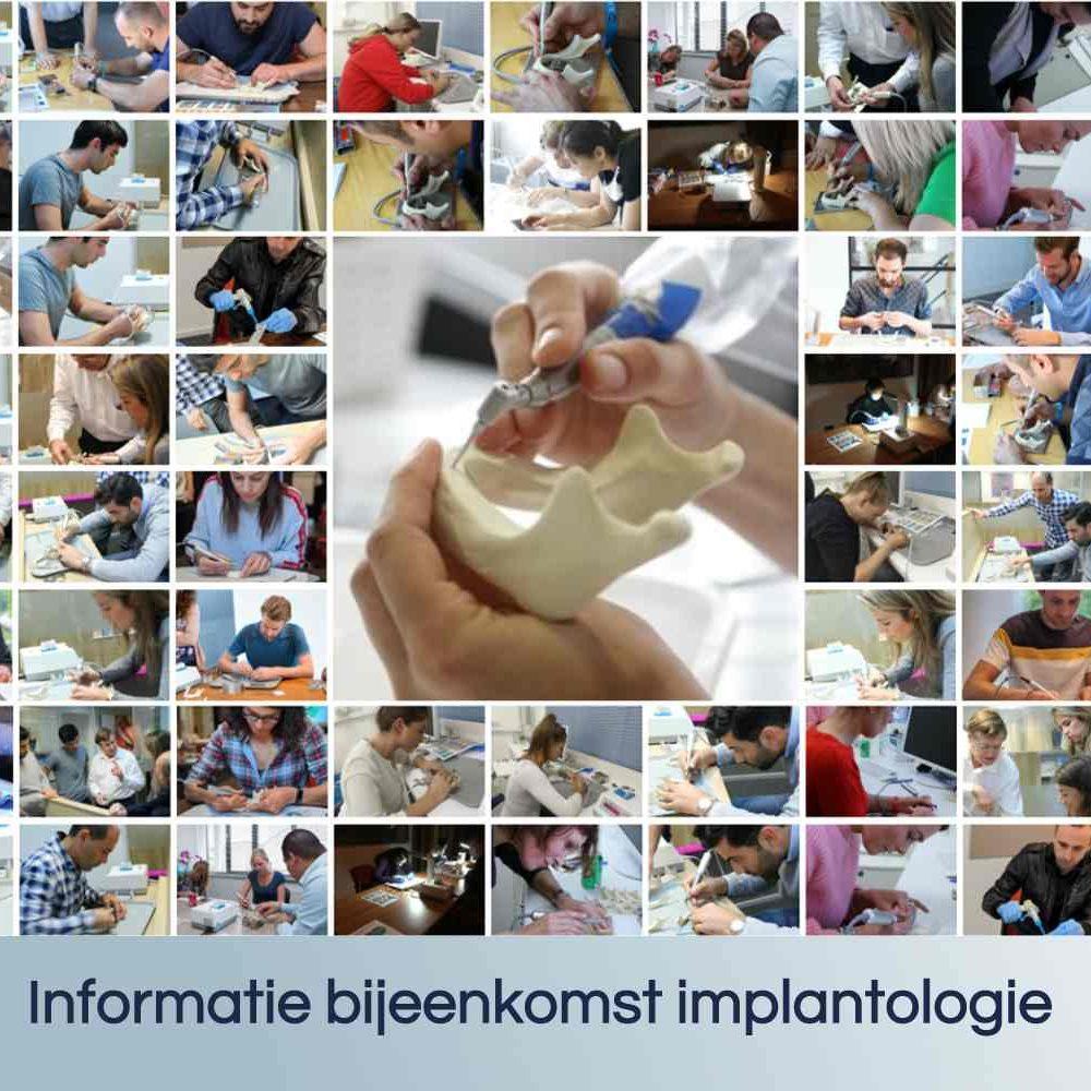 Informatie bijeenkomst Leren Implanteren